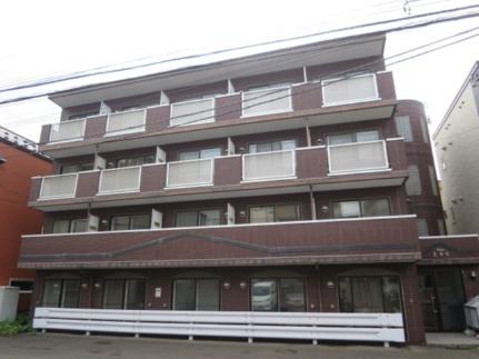 北海道札幌市中央区南三条西20丁目の賃貸マンションの外観