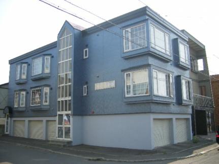 北海道札幌市西区発寒十五条4丁目の賃貸アパートの外観