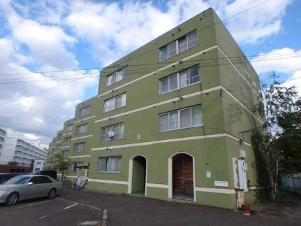 北海道札幌市西区八軒五条西10丁目の賃貸マンションの外観