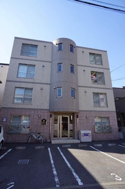 北海道札幌市西区二十四軒四条2丁目の賃貸マンションの外観