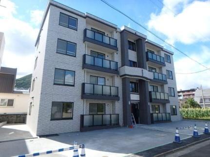北海道札幌市西区山の手二条8丁目の賃貸マンションの外観