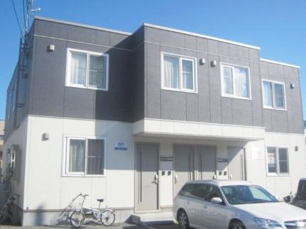 北海道札幌市西区山の手六条3丁目の賃貸アパートの外観