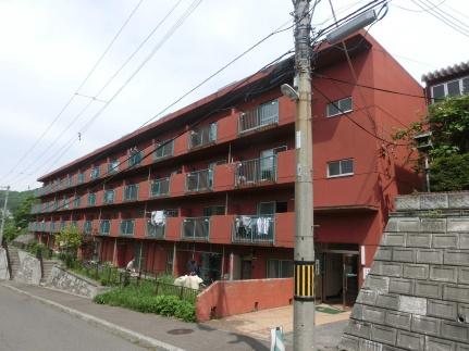 北海道札幌市中央区円山西町9丁目の賃貸マンションの外観