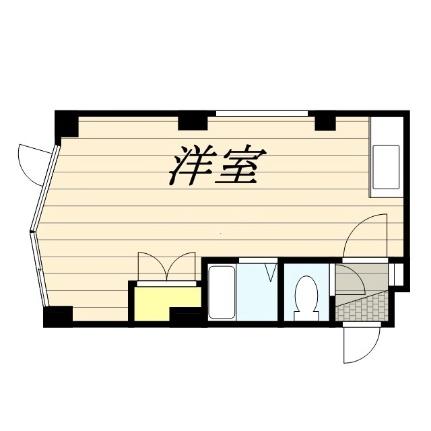 メゾンドボワール円山[401号室]の間取り