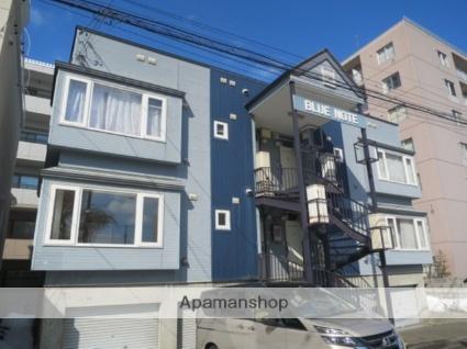 北海道札幌市東区北十五条東5丁目の賃貸アパートの外観