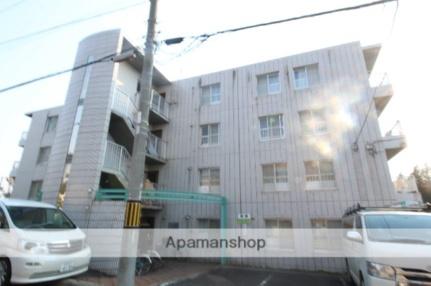 北海道札幌市厚別区厚別中央四条2丁目の賃貸マンションの外観