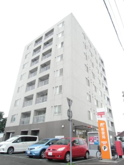 北海道江別市野幌町の賃貸マンションの外観