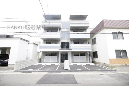 北海道札幌市東区北十八条東18丁目の賃貸マンションの外観