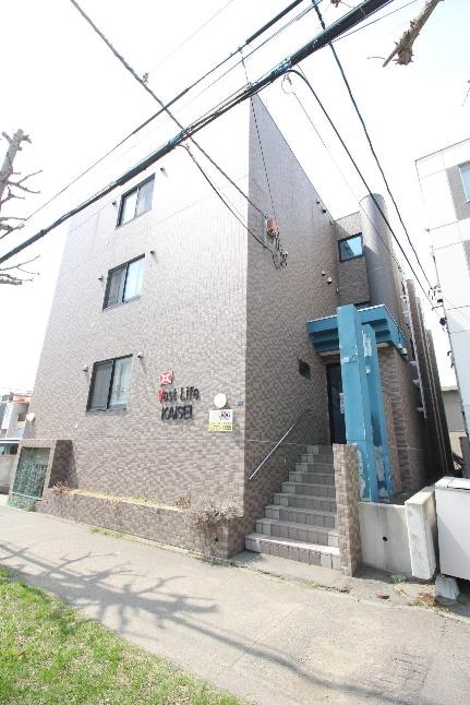北海道札幌市東区北二十二条東20丁目の賃貸マンションの外観