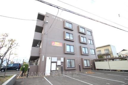 北海道札幌市東区北三十七条東27丁目の賃貸マンションの外観
