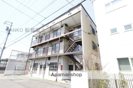北海道札幌市東区北二十一条東12丁目の賃貸アパートの外観