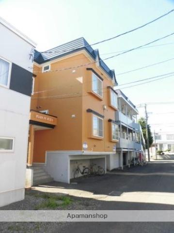 北海道札幌市東区北三十二条東3丁目の賃貸アパートの外観