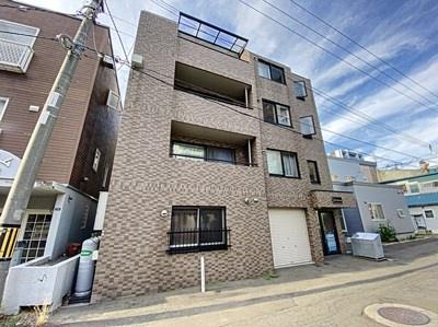 北海道札幌市北区北二十四条西3丁目の賃貸マンションの外観