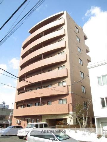 北海道札幌市豊平区月寒中央通3丁目の賃貸マンションの外観