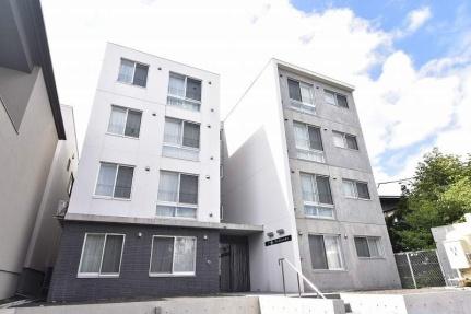 北海道札幌市豊平区福住二条2丁目の賃貸マンションの外観