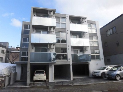 北海道札幌市豊平区福住一条3丁目の賃貸マンションの外観