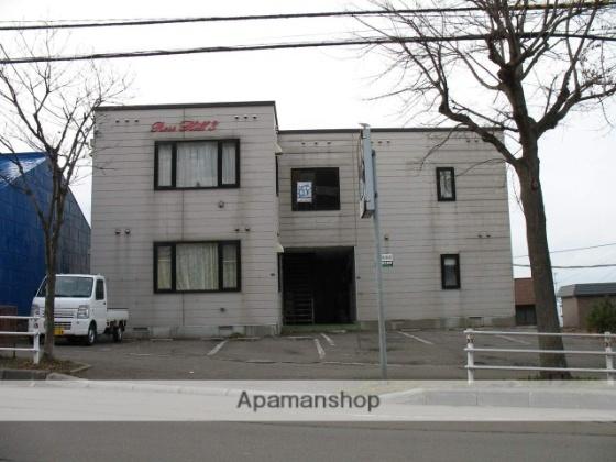 北海道函館市船見町の賃貸アパートの外観