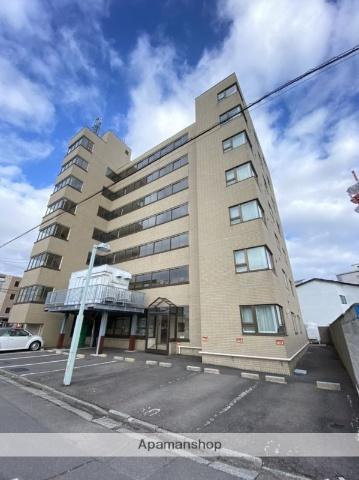 北海道函館市千歳町の賃貸マンションの外観