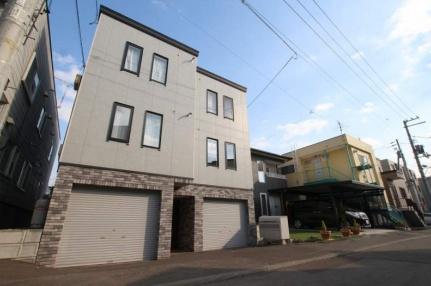北海道札幌市豊平区美園八条3丁目の賃貸アパートの外観