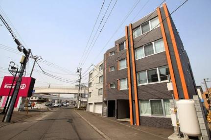 北海道札幌市白石区菊水六条4丁目の賃貸マンションの外観