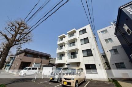 北海道札幌市豊平区美園八条3丁目の賃貸マンションの外観