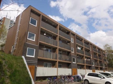北海道札幌市清田区清田一条3丁目の賃貸マンションの外観