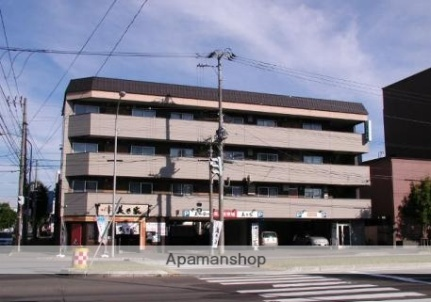 北海道札幌市豊平区美園三条7丁目の賃貸マンションの外観