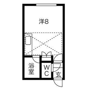 北海道札幌市白石区東札幌一条3丁目の賃貸アパートの間取り