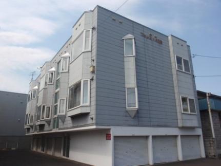 北海道札幌市白石区中央一条5丁目の賃貸アパートの外観