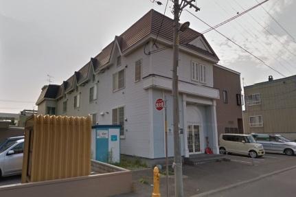 北海道札幌市白石区本通13丁目北の賃貸アパートの外観