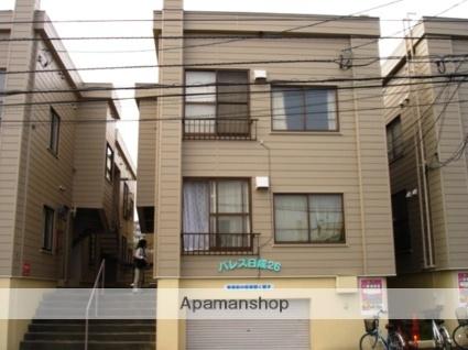 北海道札幌市白石区本郷通7丁目北の賃貸アパートの外観