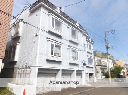 北海道札幌市白石区菊水元町一条5丁目の賃貸アパートの外観