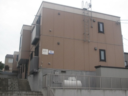 北海道札幌市手稲区富丘三条3丁目の賃貸アパートの外観