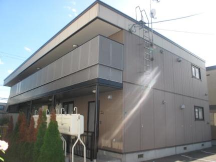 北海道札幌市手稲区西宮の沢一条4丁目の賃貸アパートの外観
