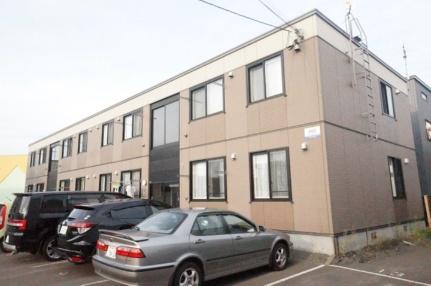 北海道札幌市手稲区西宮の沢二条4丁目の賃貸アパートの外観
