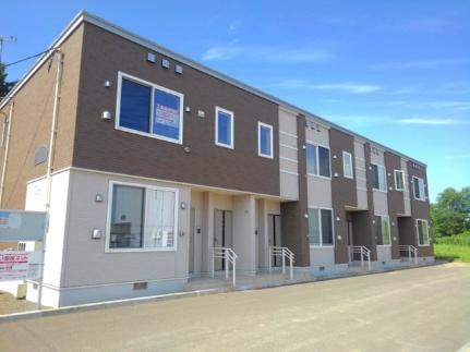 北海道岩見沢市大和四条7丁目の賃貸アパートの外観