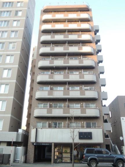 北海道札幌市中央区北一条西23丁目の賃貸マンションの外観