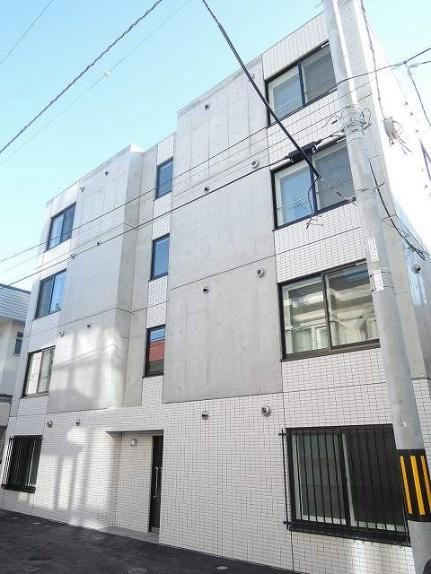 北海道札幌市中央区南五条西14丁目の賃貸マンションの外観