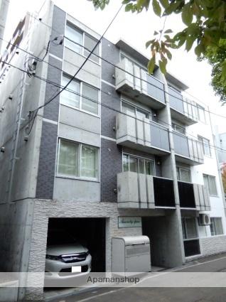 北海道札幌市中央区南十五条西6丁目の賃貸マンションの外観