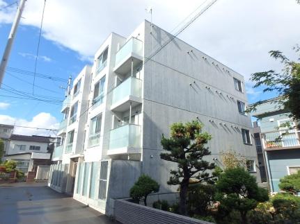 北海道札幌市西区西町北12丁目の賃貸マンションの外観