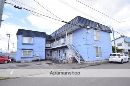北海道旭川市永山一条23丁目の賃貸アパートの外観