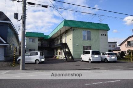 北海道旭川市豊岡五条5丁目の賃貸アパートの外観