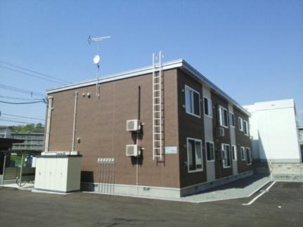 北海道旭川市春光六条4丁目の賃貸アパートの外観