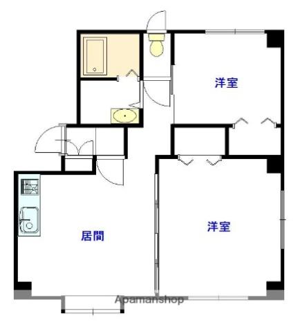 マンションM[3階]の間取り