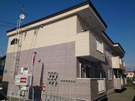 北海道旭川市東光八条2丁目の賃貸アパートの外観
