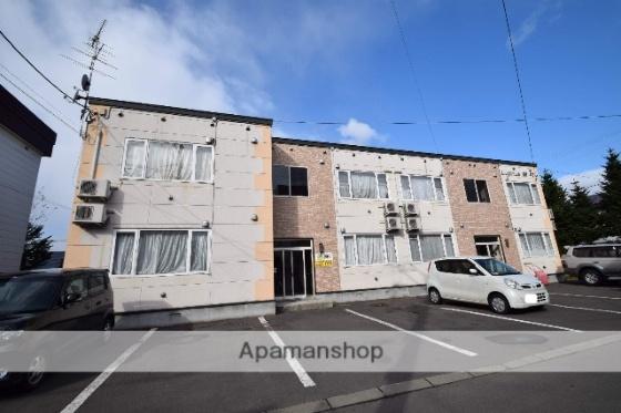 北海道旭川市錦町15丁目の賃貸アパートの外観