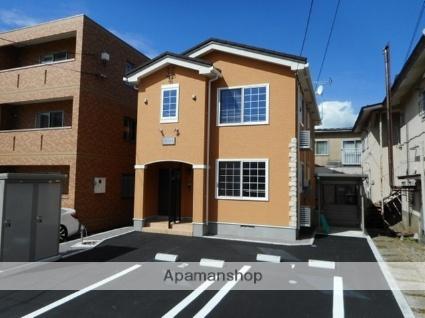 北海道函館市的場町の賃貸アパートの外観