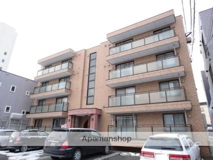 北海道札幌市白石区南郷通18丁目北の賃貸マンションの外観