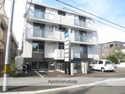 北海道札幌市西区発寒六条9丁目の賃貸マンションの外観