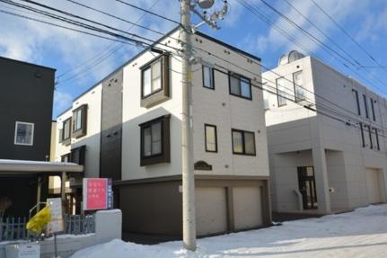 北海道札幌市東区北三十一条東10丁目の賃貸アパートの外観